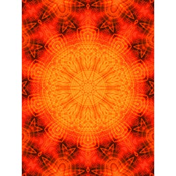 amazon paintings pattern illustration red symmetry design art print