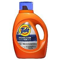 Deals on Tide Hygienic Clean Heavy 10x Duty Liquid Laundry Detergent 92 Oz