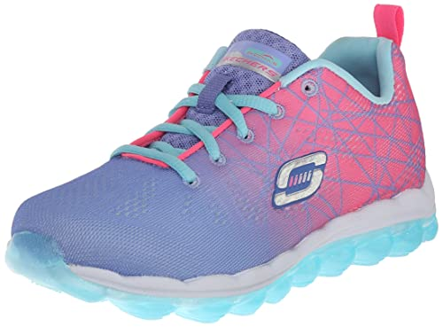 90917f7d8195 Skechers Girl s Skech Air- Laser Lite Periwinkle and Pink Sneakers - 4  UK India
