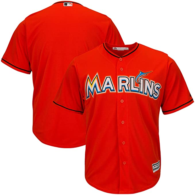 Amazon.com: Miami Marlins en blanco naranja bebés cool base ...