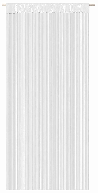 Tenda a fili Tessuto di alta qualit/à accorciabile a vostro piacimento 6/colori tenda a filo Bianco 90/x 245/cm