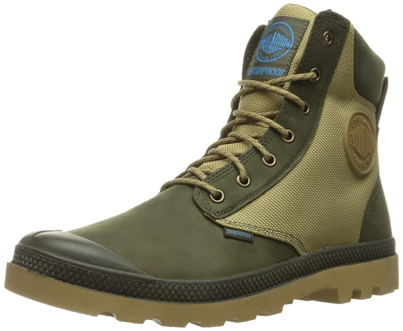 Palladium Men's Pampa Sport Cuff Wpn Rain Boot B01A9Q027A 11.5 D(M) US Army Green