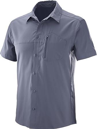 SALOMON Radiant Stretch SS Camisa de Manga Corta, Hombre: Amazon.es: Ropa y accesorios