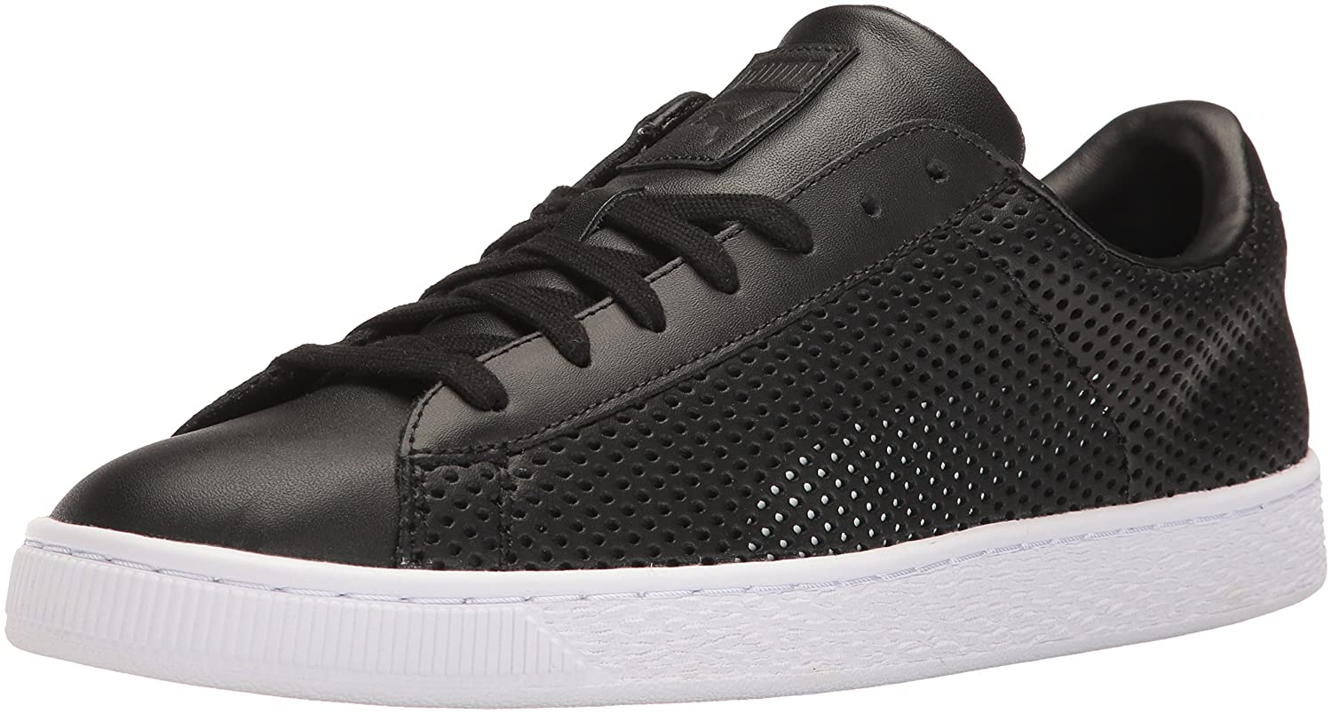 Puma Mens Basket Classic Summer Shade Fashion Sneaker  10 D(M) US|Puma Black