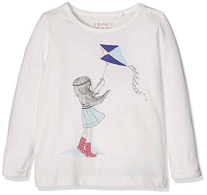 Esprit Kids Fetiche, Camiseta para Niñas, Marfil (Off White 110), 2