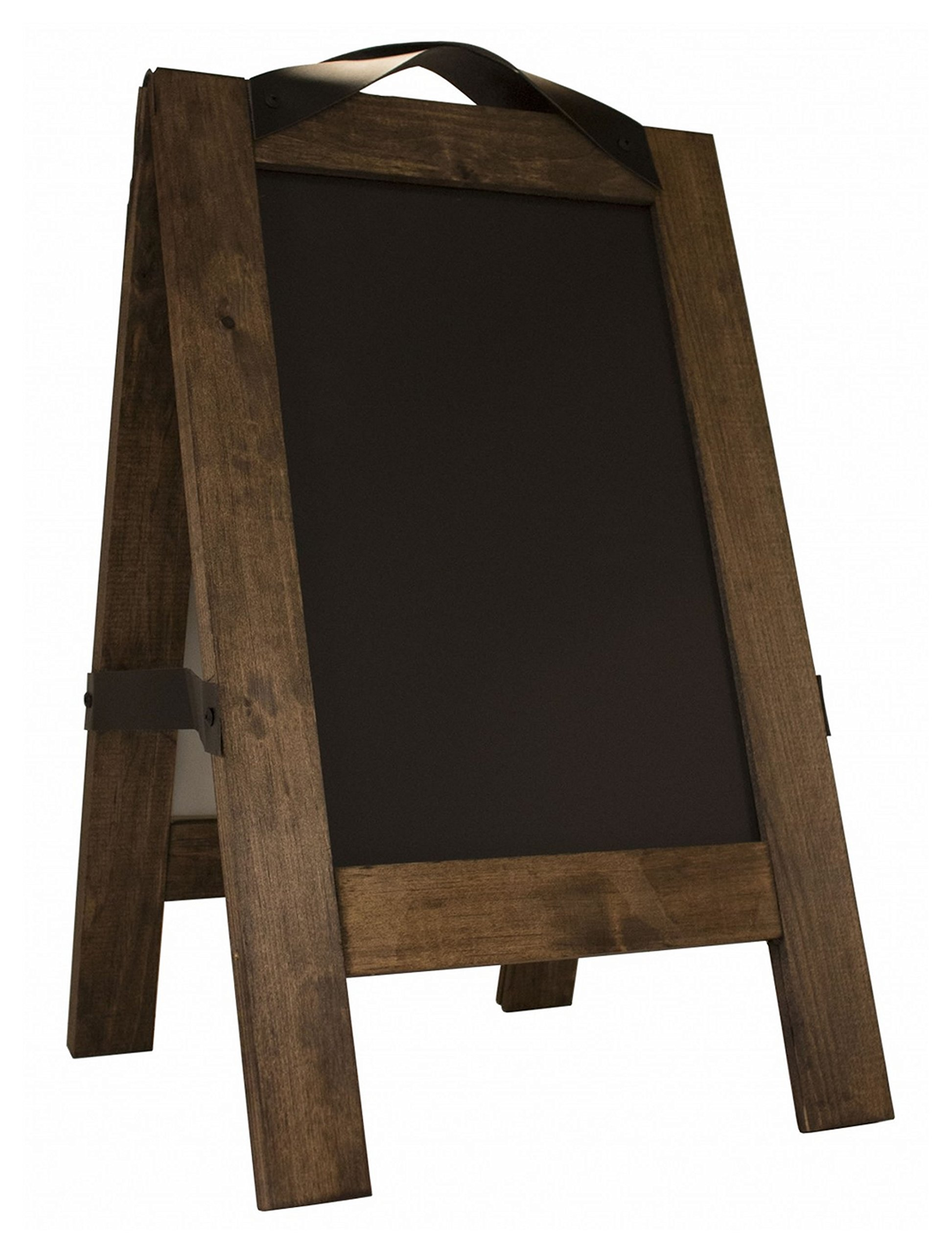 Restaurant A-Frame Sign-The Floor Talker-USA MADE-Two Magnetic Chalkboards on an A-Frame- Overall 16″ x 26″ -Chalk Board 11″ x 17″ -Includes white chisel tip marker. Type MenuCoverMan in Amazon search