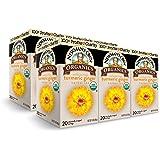Newman's Own Organics Turmeric Ginger Herbal Tea, 20 Individually Wrapped Tea Bags (Pack of 6)