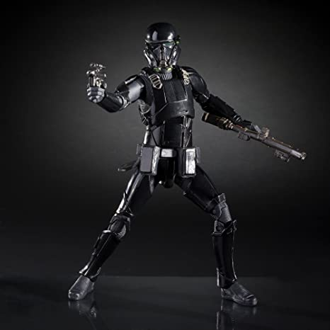 STAR WARS THE BLACK SERIES ROGUE uno 6-Inch #25 IMPERIAL Death Trooper Figura
