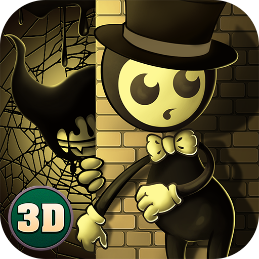 Haunted House Browser Game: Five Horror Night Cinema: Hello Bendy Machine
