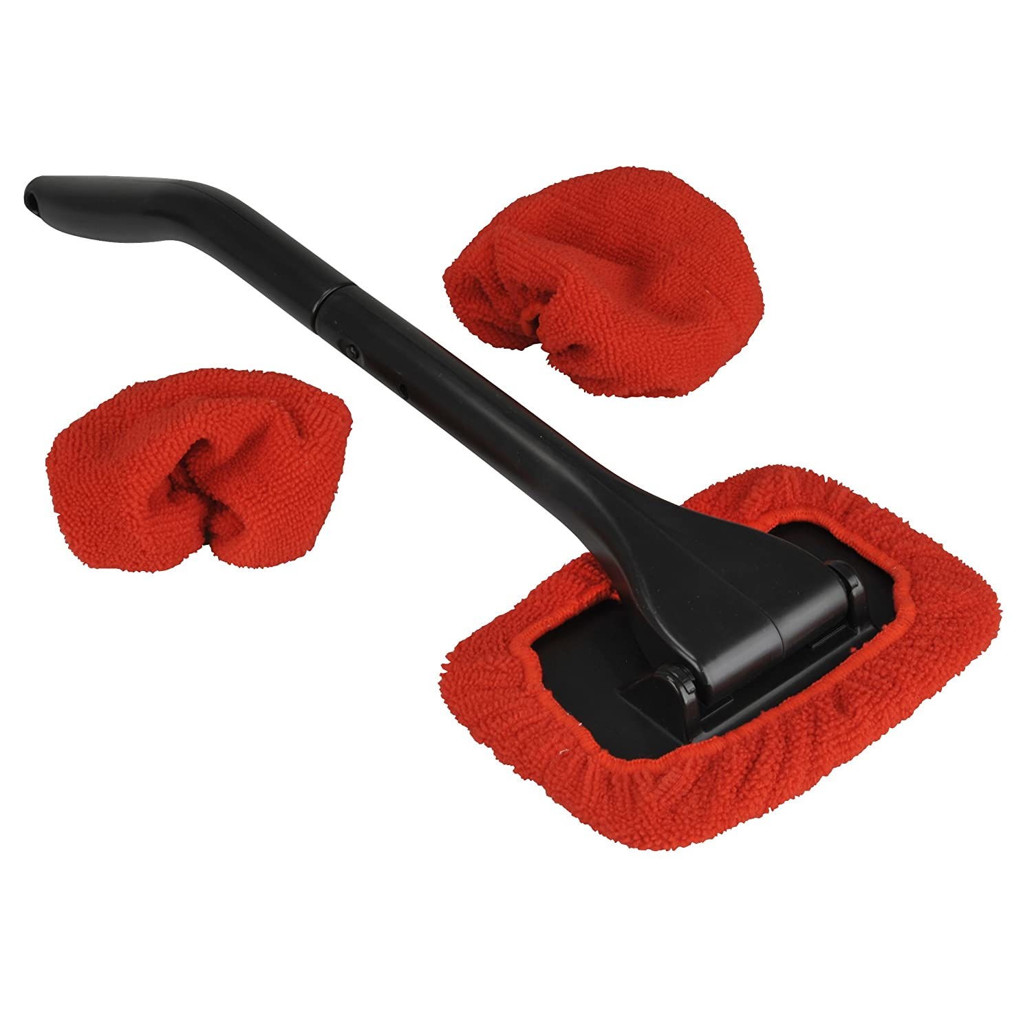 NIGRIN 71143 windshield cleaner with Microfiber Pad