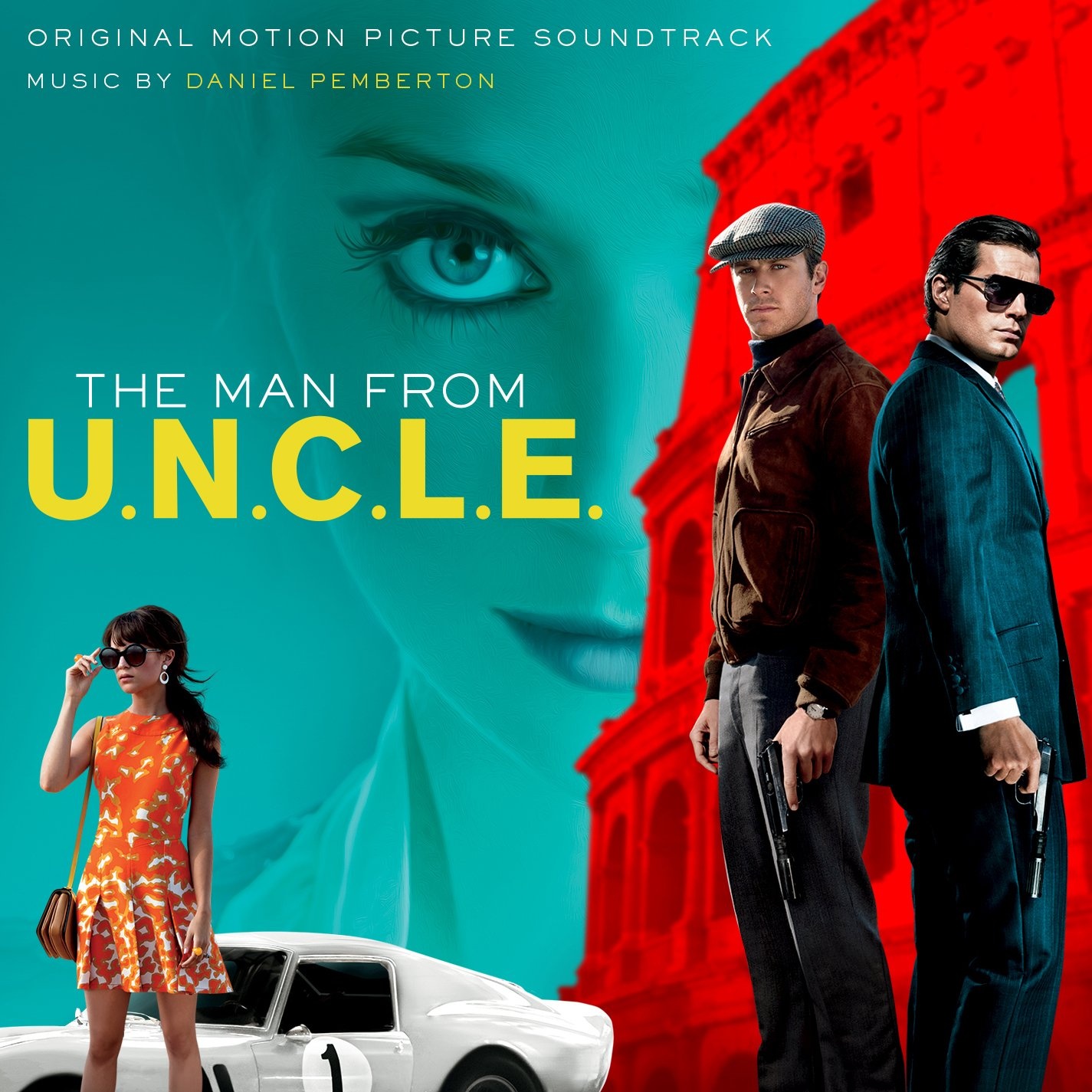 Various Artists - The Man From U.N.C.L.E.: Original Motion Picture ...