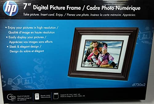 Hp 7 Digital Picture Frame Df730a2