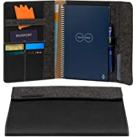 Rocketbook Smart Notebook Folio Cover - 100% Recyclable, Biodegradable Cover with Pen Holder, Magnetic Clasp & Inner…
