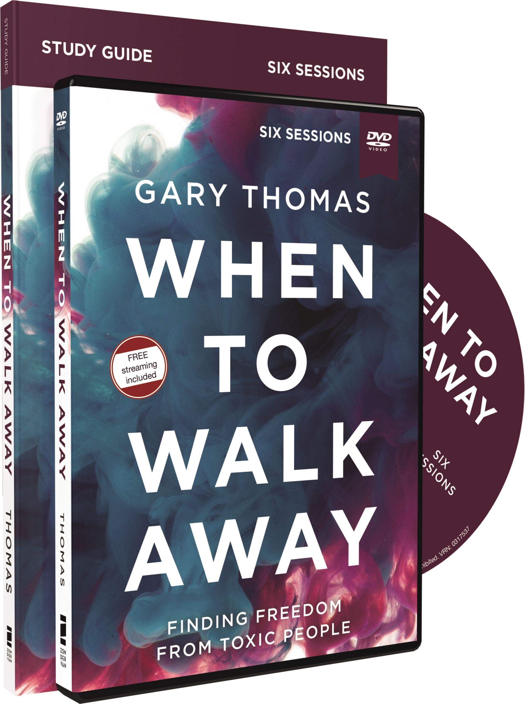 When to Walk Away Study Guide with DVD: Finding Freedom from Toxic People by HarperCollins Christian Pub.