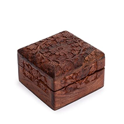 Amazon Rusticity Wood Decorative Memory Box Jewelry Box Mesmerizing Decorative Keepsake Memory Boxes