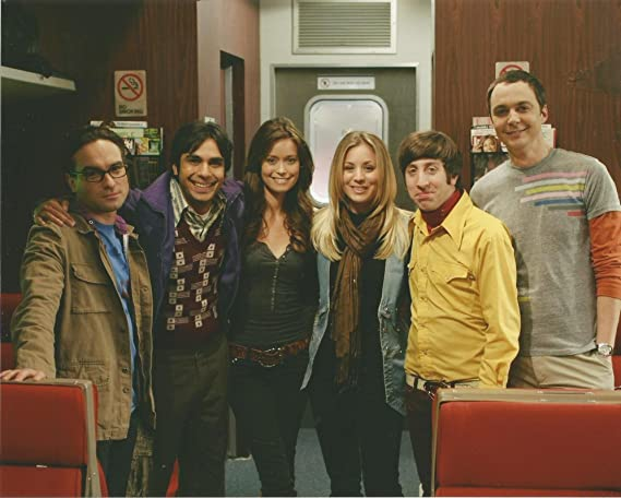 The Big Bang Theory Cast Pic With Summer Glau Kaley Cuoco 8 X 10