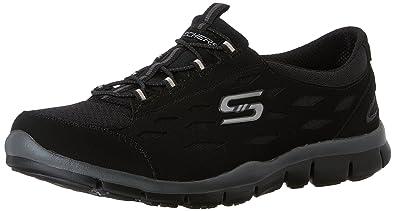 skechers sneakers black