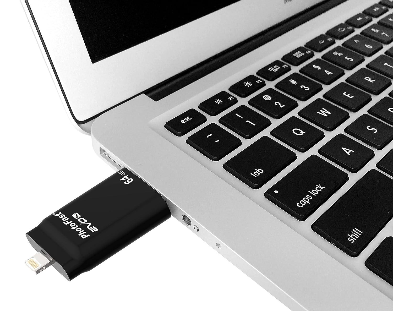 Photofast I Flashdrive Evo Plus Speicher Stick Mit 64gb Flashdisk Addlink Otg Dual Usb 32gb Flash Drive Swivel Black Computer Zubehr