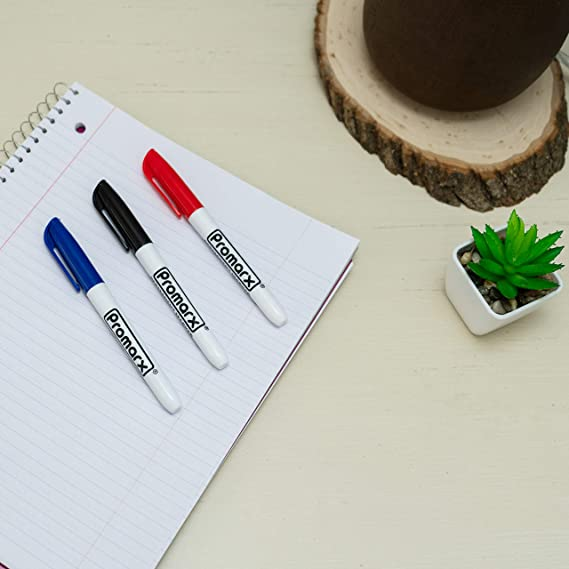 SS-3 6 TOTAL 2-3 PACKS Promarx PERMANENT MARKERS