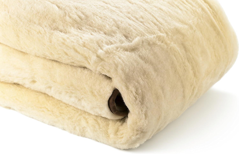 Organic Washable Reversible Woolmark /& Oeko-Tex Certified Australian Wool Deluxe Mattress Topper Mattress Cover Mattress Pad Twin 38 inches X 75 inches