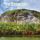 New Hampshire Wild and Scenic Wall Calendar 2018 {jg} Best Holiday Gift Ideas - Great for mom, dad, sister, brother, grandparents, grandchildren, grandma, gay, lgbtq.