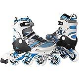 Ancheer Inlineskates Kinder Inlineskates Schlittschuhe Skateschuhe verstellbare Größe:28-31 32-35 36-39,Inliner für Mädchen und Anfänger