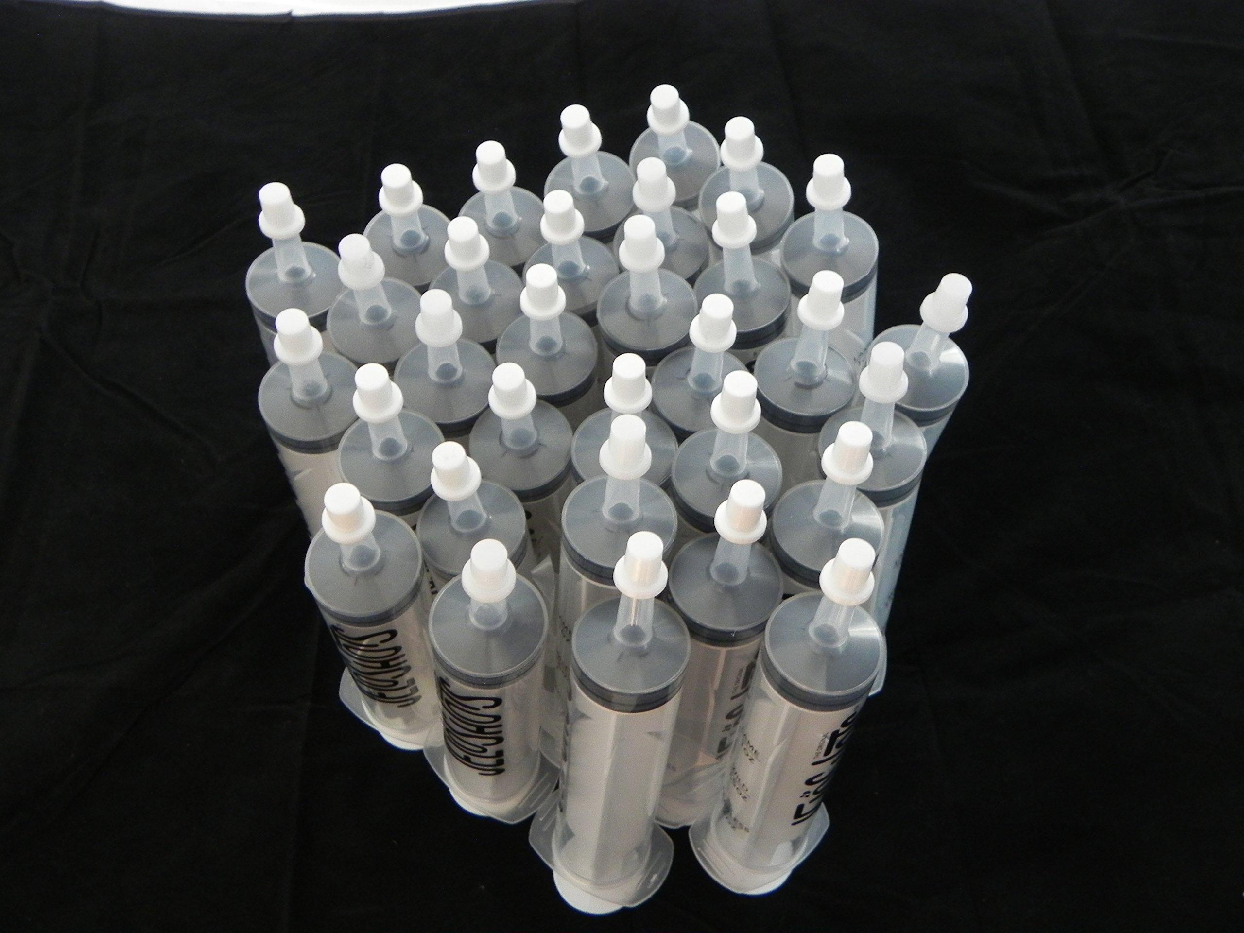 Jello Shot Syringes 32-Pack, Medium (up to 2oz), The Original JeloShots Gelatin Jello Shot Syringes with Easy-Grip Caps, Reusable by The Original JeloShots (Image #2)