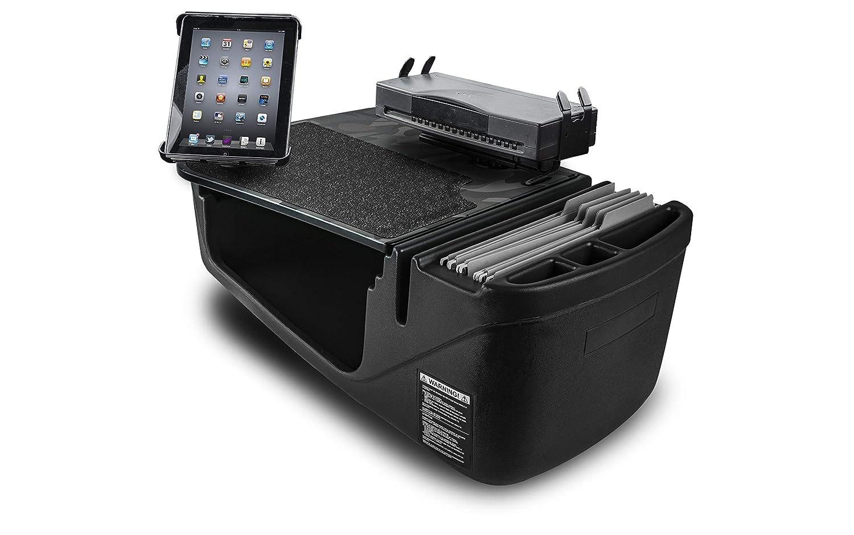 AutoExec AUE24550 Urban Camouflage Efficiency GripMaster Car Desk Built-in Power Inverter and Phone Mount
