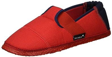 Nanga Mädchen Klette 06 Hausschuhe, Rot (Rot), 39 EU