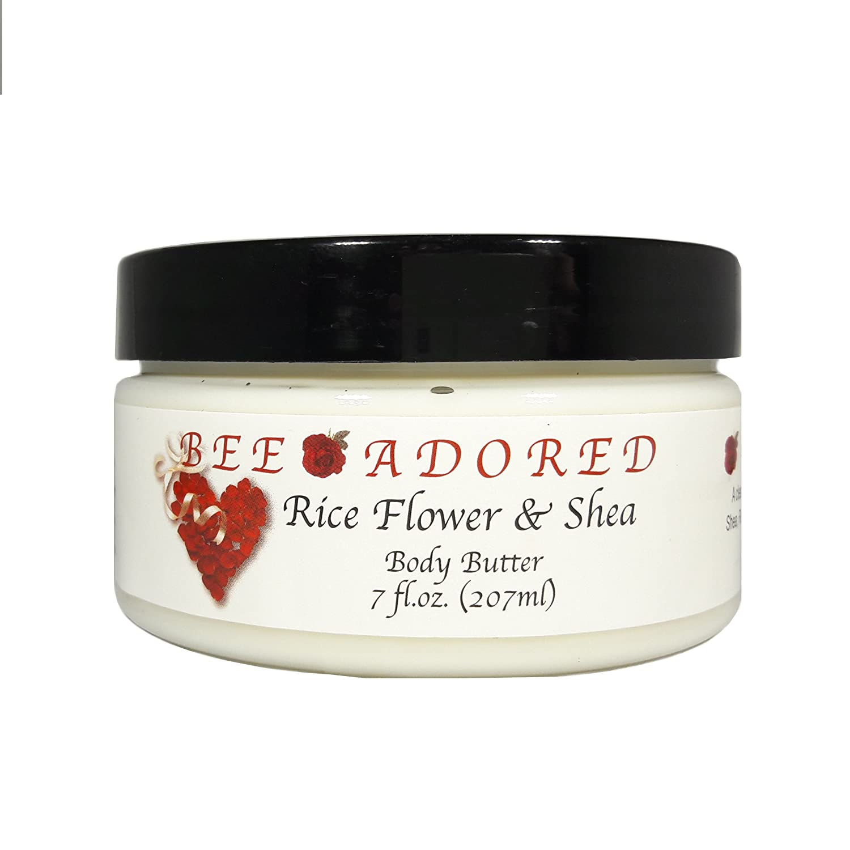 Bee Adored Body Butter, Lilac Garden, 8 Fluid Ounce