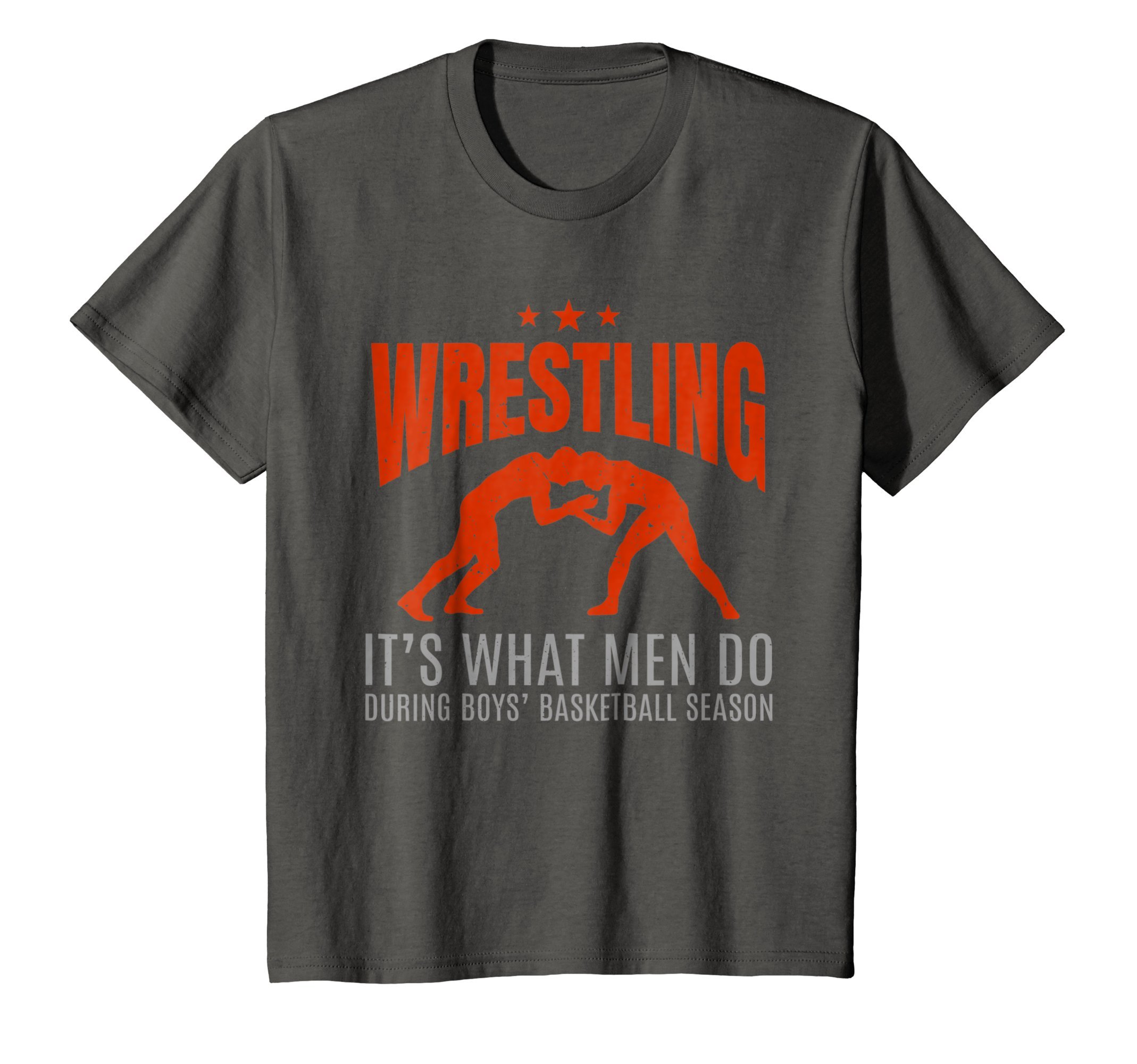 Kids Wrestling Attire Wear Tee Shirt Gift for Wrestler Boys 8 Asphalt by Funny Wrestling T-Shirts Gifts and Apparel