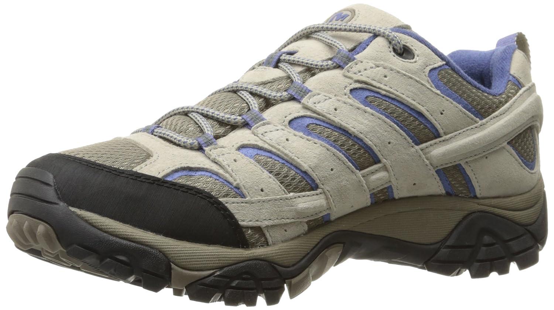 Merrell Women's Moab 2 Vent Hiking Shoe B01HFPPPEI 11 B(M) US|Aluminum/Marlin