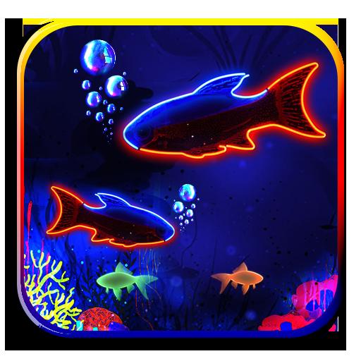 Underwater Neon Fish Theme