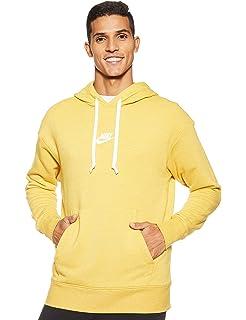Nike Herren M NSW Heritage Hoodie PO Sweatshirt, Gold Dart