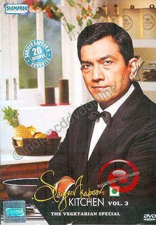 Amazon.com: Sanjeev Kapoor\'s Kitchen - Vol. 3 (The Vegetarian ...