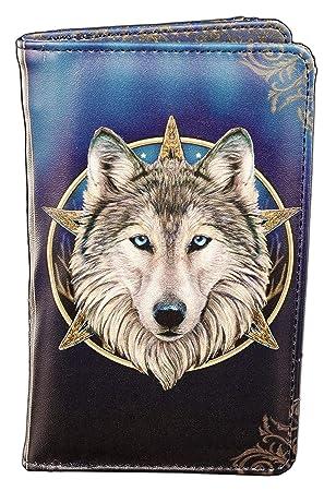 The Wild One Geldbörse mit Wolf Lisa Parker Geldbeutel Portemonnaie Fantasy