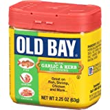 Old Bay Seasoning with Garlic & Herb, 2.62 Ounce (74 g)(Pack of 12)