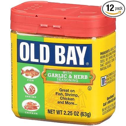Old Bay Garlic And Herb