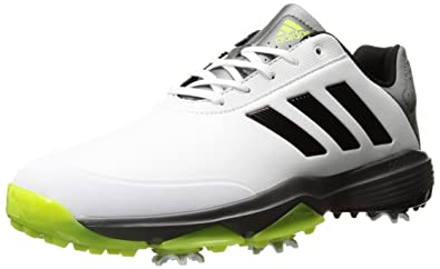 0f6fb8224 adidas Golf Men s Adipower Bounce Shoes Ftwr White Core Black Solar Slime 10