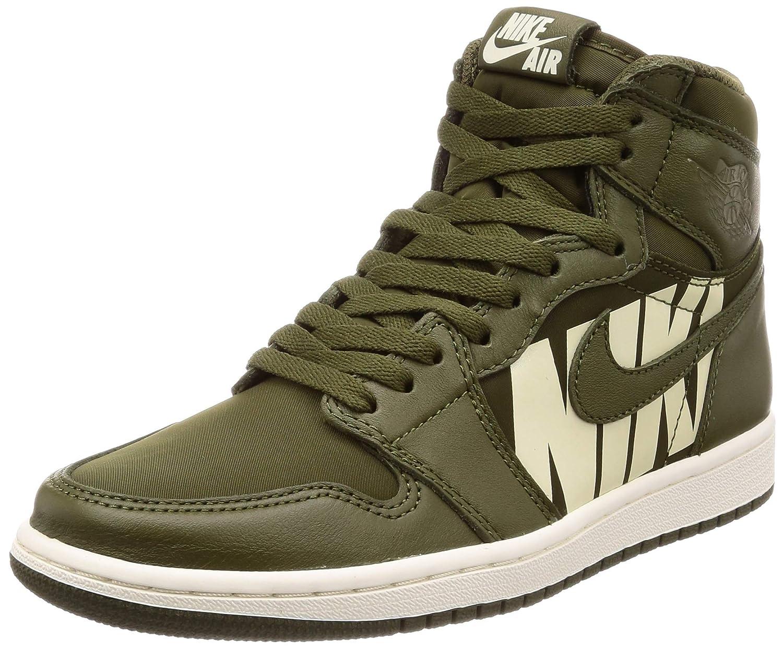 1400181e4a Nike AIR Jordan 1 Retro HIGH OG 'Olive Canvas' - 555088-300: Amazon.ca:  Shoes & Handbags