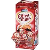 NES42498 Liquid Coffee Creamer, Cinnamon Vanilla, 0.375 oz Mini Cups, 50/Box