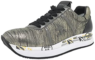 PREMIATA Damen Sneaker Gold Gold, Gold - Gold - Größe  36 EU  Amazon ... 940ae3deac