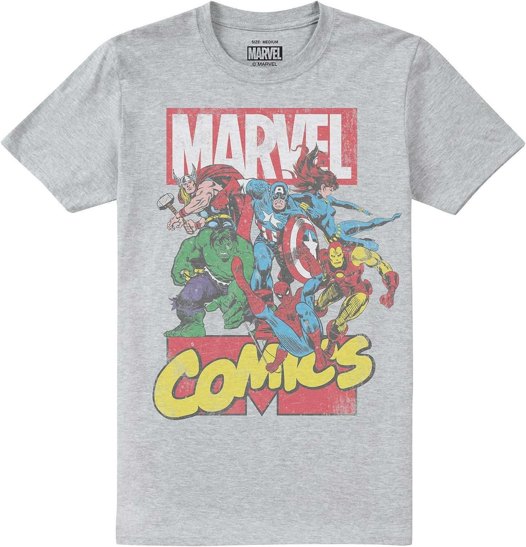 Marvel Call out Camiseta para Hombre: Amazon.es: Ropa y accesorios