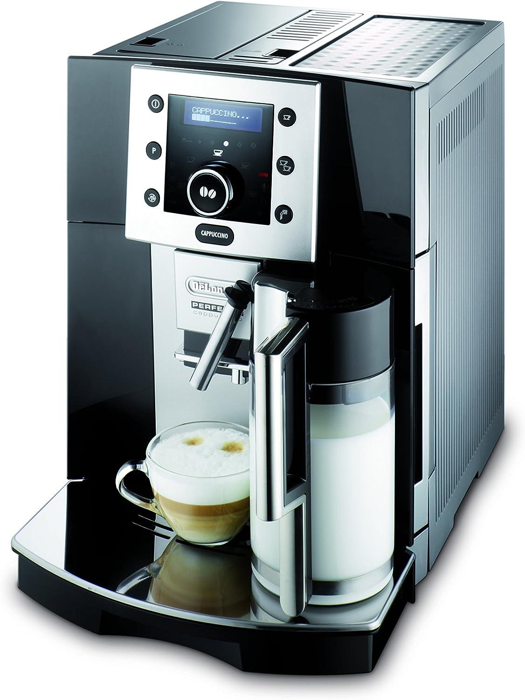 DeLonghi Perfecta ESAM 5500.B Independiente Máquina espresso 1,7 L Totalmente automática - Cafetera (Independiente, Máquina espresso, 1,7 L, Molinillo integrado, 1350 W, Negro): Amazon.es: Hogar
