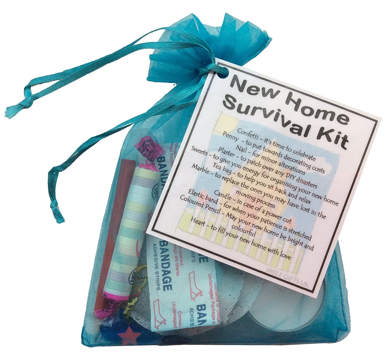 New Home Survival Kit Housewarming Gift (Great alternative to a ...