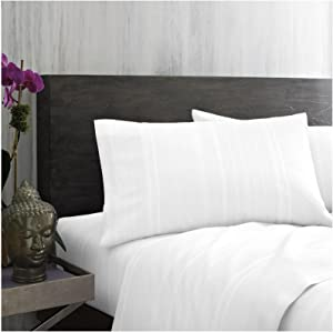 Under the Canopy 1A16110 Unity Sheet Set, Twin, White