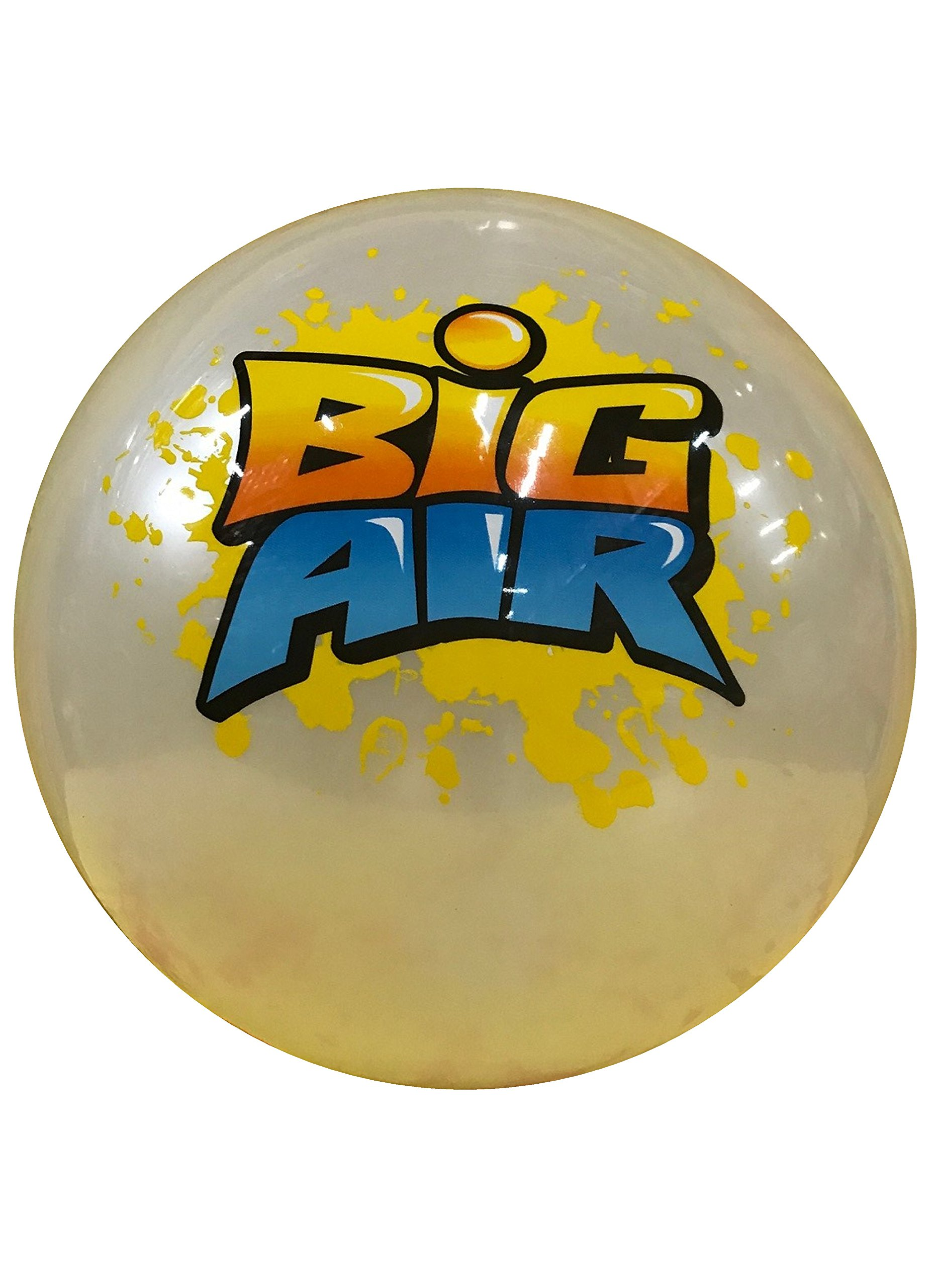 Wave Runner Big Air Inflatable Giant Beach Ball Size Large 18'' Water Bouncing Ball. Great Kids and Adult Boys and Girls for Pool Beach Pond Lake Activities Summer Toy Gift Under 10 (White, Large) by Wave Runner
