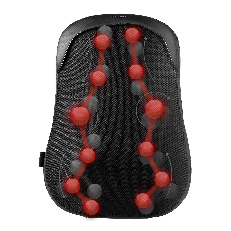 Naipo Rückenmassagegerät im Test - Naipo Massagematte MBGK-750