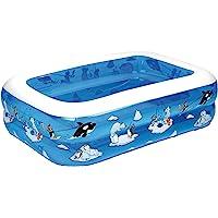 Fridola Wehncke 12450 My First Pool - 4in1 Piscina Hinchable para niños, 143x106x36cm