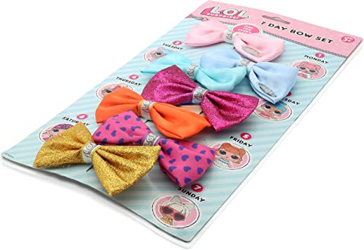 Surprise Dolls Bows Glittery Bows 2 X Handmade Gorgeous Hair Bows